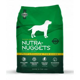 Nutra Nuggets (Нутра Нагетс) PERFORMANCE сухой корм для собак (зеленая)