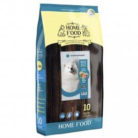 Home Food ADULT MEDIUM гипоаллергенный корм для собак средних пород ФОРЕЛЬ С РИСОМ