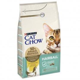 Cat Chow (Кет Чау) Hairball Control (ХЭРБОЛ) Корм для кошек контроль образования комков шерсти в желудке