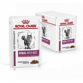 Royal Canin RENAL BEEF лечебные консервы для кошек c почечной недостаточностью (говядина)