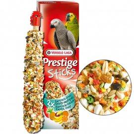 Versele-Laga (Верселе-Лага) Prestige PARROTS EXOTIC FRUIT лакомство для крупных попугаев, ЭКЗОТИЧЕСКИЕ ФРУКТЫ 140 г (2 шт.)