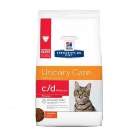 Hill's Prescription Diet c/d Urinary Care Multicare Stress корм для кошек для здоровья мочевыводящих путей и снижения стресса