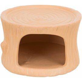 Trixie керамический домик для мышей и хомяков, 11х6х10 см