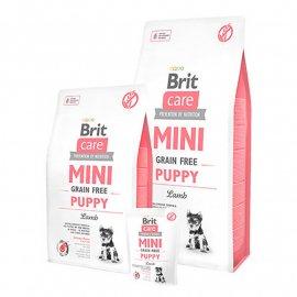 Brit Care Grain-free MINI PUPPY LAMB (ПАППИ ЯГНЕНОК) беззерновой корм для щенков мини пород (от 2 недель до 10 месяцев)
