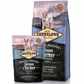 Carnilove SALMON & TURKEY PUPPY (ЛОСОСЬ И ИНДЕЙКА) корм для щенков