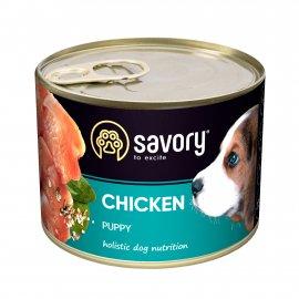 Savory (Сейвори) CHICKEN  PUPPY влажный корм для щенков (курица)