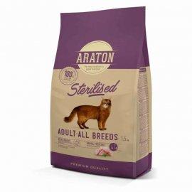 Araton (Аратон) ADULT ALL BREEDS STERILISED сухой корм для стерилизованных и склонных к полноте кошек КУРИЦА