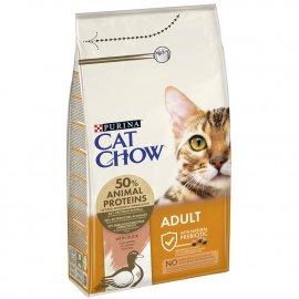 Cat Chow ADULT DUCK корм для взрослых кошек с уткой