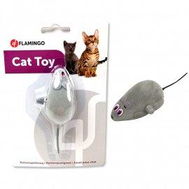 Flamingo WIND UP MOUSE заводная игрушка для кошек, мышь