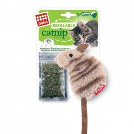 GiGwi (Гигви) Catnip МЫШКА игрушка для котов с кошачьей мятой