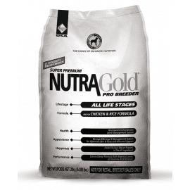 Nutra Gold (Нутра Голд) Pro Breeder GOLD сухой корм для щенков и взрослых собак (белая)