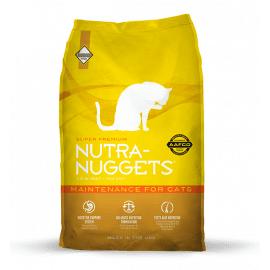 Nutra Nuggets (Нутра Нагетс) MAINTENANCE CAT сухой корм для кошек (желтая)