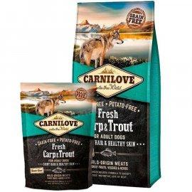 Carnilove FRESH CARP & TROUT корм для собак КАРП и ФОРЕЛЬ