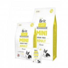 Brit Care Grain-free MINI ADULT LAMB (ЭДАЛТ ЯГНЕНОК) беззерновой корм для взрослых собак мини пород