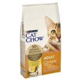 Cat Chow (Кет Чау) Adult (ЭДАЛТ) Корм для взрослых кошек с курицей