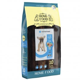 Home Food ФОРЕЛЬ С РИСОМ И ОВОЩАМИ - гипоаллергенный корм для щенков МЕЛКИХ ПОРОД