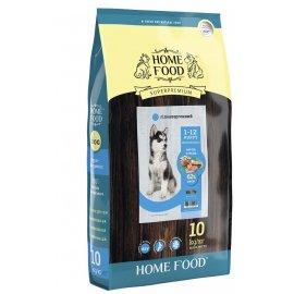 Home Food ФОРЕЛЬ С РИСОМ И ОВОЩАМИ - гипоаллергенный корм для щенков СРЕДНИХ И КРУПНЫХ ПОРОД