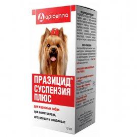 Apicenna ПРАЗИЦИД ПЛЮС сладкая суспензия для взрослых собак, 10 мл