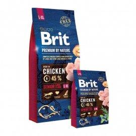 Brit Premium Senior Large & Extra Large L/XL - корм для пожилых собак крупных и гигантских пород