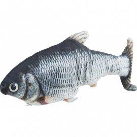 Trixie WIGGLY FISH игрушка для кошек (ткань), 30 см (45795)