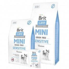 Brit Care Grain-free MINI SENSITIVE VENISON (ЧУВСТВИТЕЛЬНОЕ ПИЩЕВАРЕНИЕ ОЛЕНИНА) беззерновой корм для собак мини пород