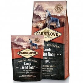Carnilove LAMB & WILD BOAR (ЯГНЕНОК И ДИКИЙ КАБАН) корм для взрослых собак