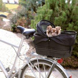 Trixie Bicycle Basket сумка велосипедная для собак до 8 кг (13118)