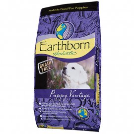 Earthborn Holistic (Эрсборн Холистик) PUPPY VANTAGE GRAIN FREE (КУРИЦА И БЕЛАЯ РЫБА) беззерновой корм для щенков 12,7 кг