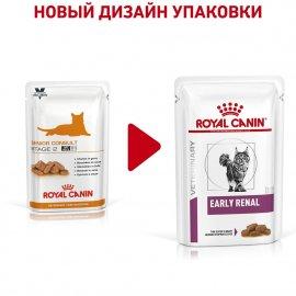 Royal Canin EARLY RENAL FELINE полнорационный влажный корм для кошек при ранней стадии почечной недостаточности