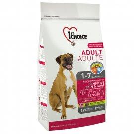 1st Choice (Фест Чойс) ADULT LAMB & FISH (ЭДАЛТ ЯГНЕНОК И РЫБА) корм для собак для чувствительной кожи и шерсти