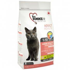 1st CHOICE (Фест Чойс) INDOOR VITALITY (ИНДУР ВИТАЛИТИ) корм для кошек