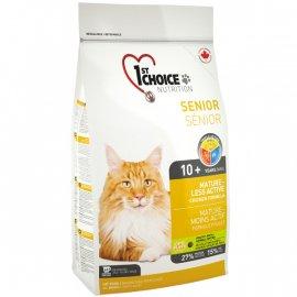 1st CHOICE (Фест Чойс) SENIOR MATURE ACTIVE (МАТЮРЕ 10+ СЕНЬОР) корм для кошек от 10 лет