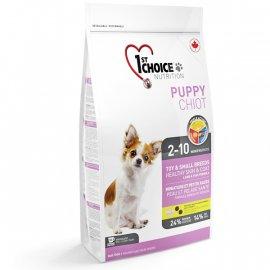 1st Choice (ФестЧойс) PUPPY TOY & SMALL (ЩЕНКИ МИНИ И МАЛЫХ ПОРОД ЯГНЕНОК И РЫБА) корм для щенков