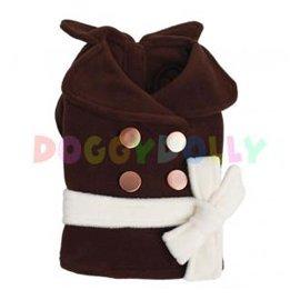 DoggyDolly Пальто для собак коричневое (РАСПРОДАЖА - 50%)