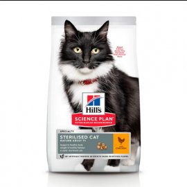 Hill's Science Plan Mature Adult 7+ Sterilised Cat корм для кошек с курицей