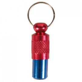 Trixie Адресник на ошейник для собак сине-красный (2279)