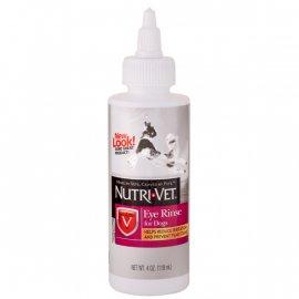 Nutri-Vet (Нутри-Вет) Eye Rinse - ЧИСТЫЕ ГЛАЗА глазные капли для собак, 118 мл