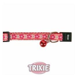 Trixie FLOWER Ошейник для кошек с колокольчиком (4205)
