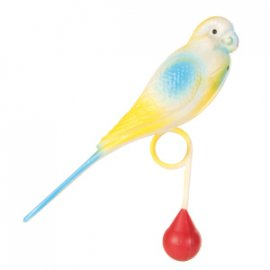 Trixie Пластиковая птичка - игрушка для попугая