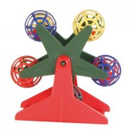 Trixie Карусель с шариками - игрушка для попугая (5355)