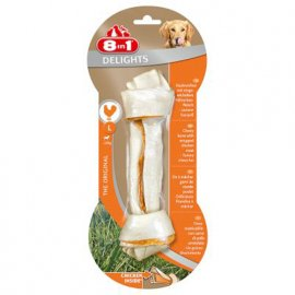 8in1 (8 в 1) Delights Bones кость с мясом - лакомства для собак