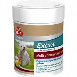 8in1 EXCEL MULTI VITAMIN SMALL (ЕКСЕЛЬ МУЛЬТИВИТАМИНЫ СМОЛ) пищевая добавка для собак малых, 70 табл. (СКИДКА 10% - АКЦИЯ)