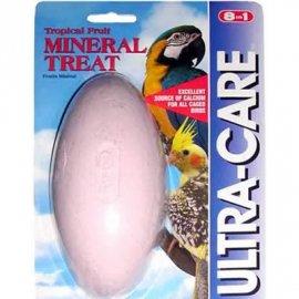 8in1(8в1) Mineral Treat  - Минеральный брусок для затачивания клюва для средних и волнистых попугаев, 114 г