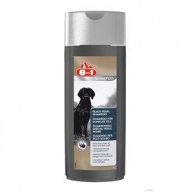 8in1 Black Pearl Shampoo - Шампунь для темной шерсти собак ЧЕРНАЯ ЖЕМЧУЖИНА (EU), 250 мл