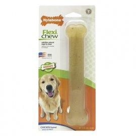 Nylabone (Нилабон) FLEXI CHEW (ФЛЕКСИ ЧЬЮ ЖЕВАТЕЛЬНАЯ КОСТЬ) игрушка для собак
