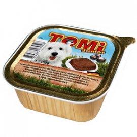 TOMi Junior консервы для щенков - паштет, курица
