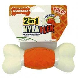 Nylabone (Нилабон) NILAFLEX  BONE (НИЛАФЛЕКС КОСТЬ) игрушка для собак, резина/нейлон