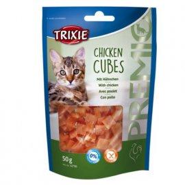 Trixie PREMIO Chicken Cubes - лакомство для кошек С КУРИЦЕЙ, 50 г (42706)