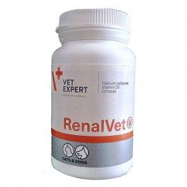 VetExpert (ВетЭксперт) RENALVET (РЕНАЛВЕТ) препарат при заболеваниях почек для собак и кошек, 60 капс