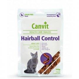 Canvit HAIRBALL CONTROL (ХЕЙРБОЛЛ КОНТРОЛ) полувлажное функциональное лакомство для кошек